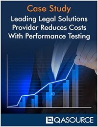 Leading Legal Solutions Provider Reduces Costs With Performance Testing