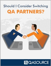 Should I Consider Switching QA Partners Worksheet